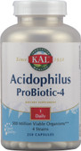 Acidophilus ProBiotic-4 500 million 250 Caps, KAL