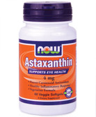 Astaxanthin 4 mg 60 Softgels, Now Foods, Antioxidant