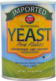 Nutritional Yeast Fine Flakes 14.8 oz, KAL