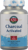 Charcoal Activated 100 Caps, KAL