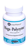 Mega-Polyzyme Full Spectrum Vegetarian Enzymes 60 Caps, InterPlexus