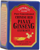 Chinese Red Panax Ginseng Extract 1.06 oz, Imperial Elixir