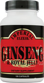 Ginseng & Royal Jelly 100 Caps, Imperial Elixir