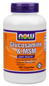 Now Foods Glucosamine & M.S.M 180 Caps, Joints