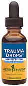 Trauma Drops Nervous System 1 oz, Herb Pharm