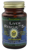 Detox Liver Rescue 5 Plus 30 VeganCaps, HealthForce Nutritionals