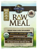 Organic RAW Meal Chocolate Cacao 10 Pkts, Garden of Life