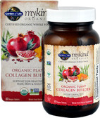 Mykind Organics Plant Collagen Builder 60 Vegan Tabs, Garden of Life
