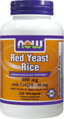 Red Yeast Rice with COQ10 120 vCaps, Now Foods
