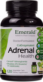 Emerald Labs Adrenal Health 120 Vegetable Caps