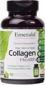 Collagen Health for Hair Skin & Nails 90 vCaps Emerald Labs