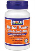Herbal Pause 60 Vcaps, Now Foods, Natural Menopause Relief
