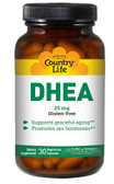 DHEA 25 mg 30 VCaps, Country Life