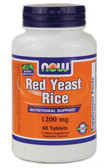 Red Yeast Rice Extract 1200 mg 60 Tabs, Now Foods