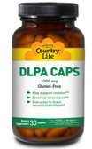 DLPA Caps 1000 mg 30 Caps, Country Life