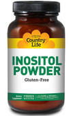 Inositol Powder 1100 mg 8 oz, Country Life