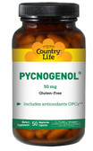 Pycnogenol 50 mg 50 VCaps, Country Life