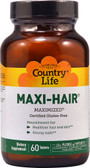 Maxi Hair Maximized 60 Tabs, Country Life