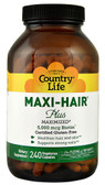 Maxi-Hair Plus 240 VCaps, Country Life