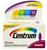 Women Multivitamin 40 Tabs, Centrum
