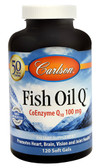 Fish Oil Q 100 mg 120 Softgel Caps, Carlson