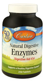 Natural Digestive Enzymes Digestive Aid No 34 250 Tabs, Carlson