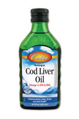 Norwegian Cod Liver Oil Liquid Unflavored 8.4 oz, Carlson