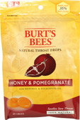 Natural Throat Drops Honey & Pomegranate 20 Drops, Burt's Bees