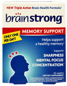 Memory Support 30 Caplets, BrainStrong