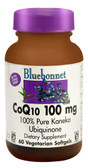 CoQ10 100 mg 60 sGels, Bluebonnet Nutrition