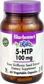 5-HTP 100 mg 60 Vegetable Caps, Bluebonnet Nutrition