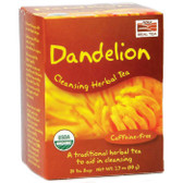Dandelion Cleansing Herbal 24 Tea Bags, Now Foods