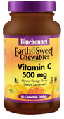 EarthSweet Chews Vitamin C Natural Orange 500 mg 90 Chews, Bluebonnet Nutrition