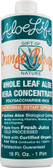 Whole Leaf Aloe Vera Juice Concentrate Orange Papaya 16 oz, Aloe Life