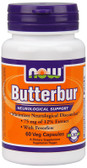 Butterbur 75 mg 60 Caps Now Foods, Headaches