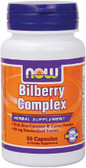 Bilberry Complex 80 mg  50 Caps, Now Foods