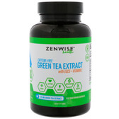 Green Tea Extract with EGCG + Vitamin C 120 Vegetarian Caps Zenwise