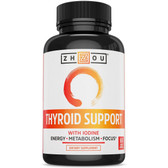 Thyroid Support Complex With Iodine 60 Veggie Caps, Zhou