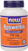 Boswellin Extract 250 mg 120 Caps, Now Foods Supplements