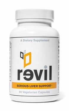 Revil 90 Vegetarian Caps Drinkwell, Liver Support & Liver Detox