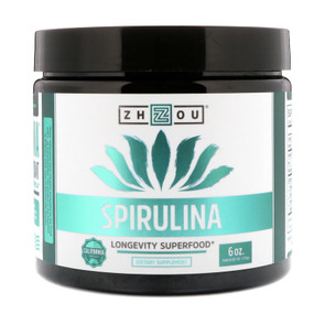Spirulina 6 oz (170 g) Zhou Nutrition, Superfood