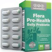 Flora Pro Probiotics For Women & Men On The Go 30 Billion CFU 60 Vegetarian Caps