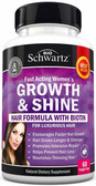 Woman Hair Growth Vitamins with Biotin 60 Veggie Caps BioSchwartz