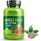 Whole Food Multivitamin for Men 240 Caps, Naturelo