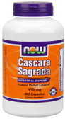 Cascara Sagrada 450 mg 250 Caps Now Foods, Laxative