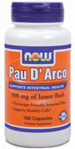 Pau D' Arco 500 mg 100 Caps, Now Foods, Digestion