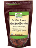 Golden Berries Organic 8 oz, Now Foods, Superfruit
