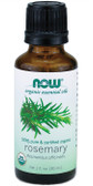 Organic Rosemary Oil 1 oz Now Foods, Cleansing