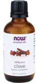 100% Pure Clove Oil 2 oz, Now Foods, Soothing & Comforting