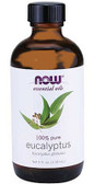 Eucalyptus Oil  4 oz, Now Foods